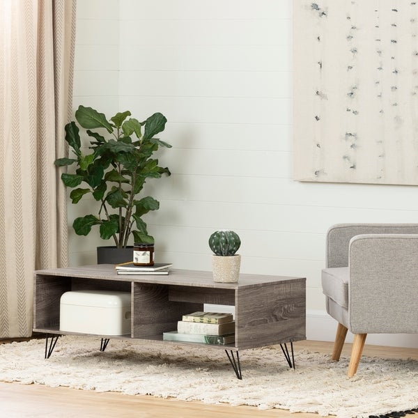 South Shore Evane Coffee Table with Storage