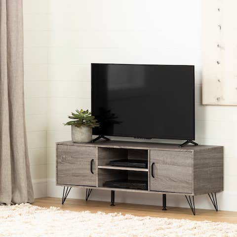South Shore Evane TV Stand with Doors for TVs up to 55""