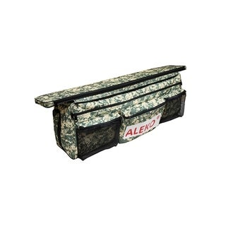 """ALEKO Inflatable Boat Seat Cushion 34""""x9"""" Digital With Under Seat Bag"""