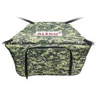 "ALEKO Waterproof Front Bow  Storage Bag for 10.5 ft Boats 26"" x 15"" Digital Print"