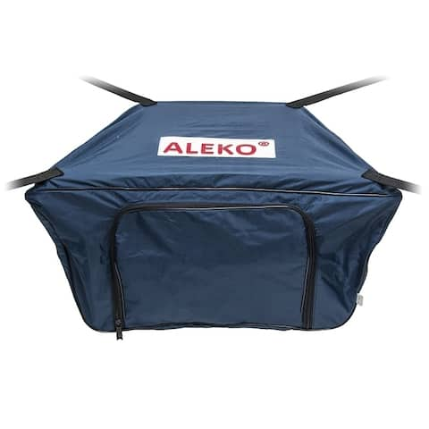 "ALEKO Waterproof Front Bow Storage Bag for 10.5 ft Boats 26"" x 15"" Blue"