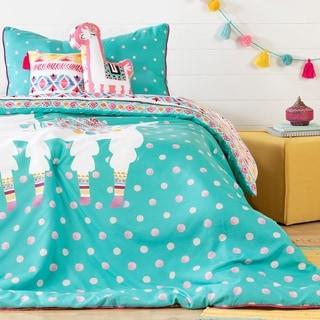 South Shore Dreamit Kids Bedding Set Festive Llama