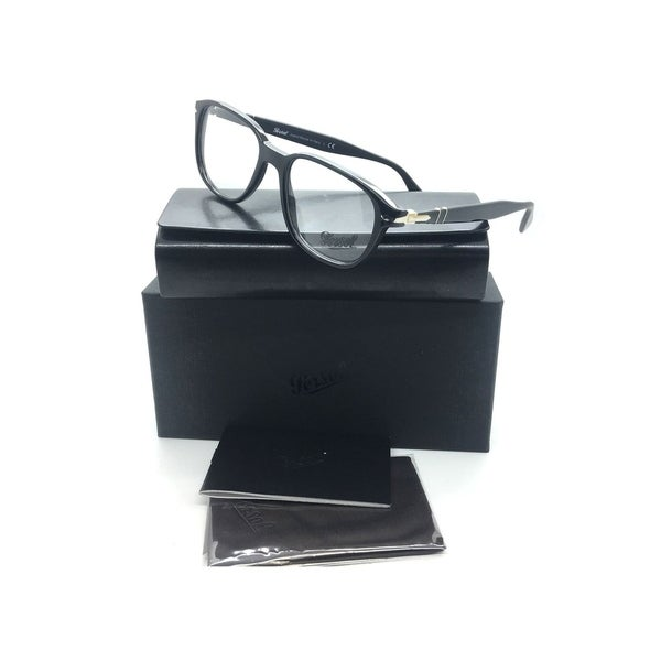 32665f6237585 ... Optical Frames. Persol Black Eyeglasses PO 3145 V 95 53 mm Designer  Demo Lenses