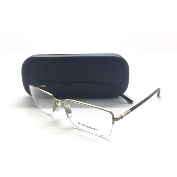 16c3d4ecb2 POLO RALPH LAUREN Semi Rimless Gold PH1128 9205 Men  x27 s Eyeglasses Frame