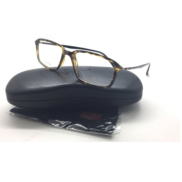 d9c436bea4 Ray Ban RB 7019 2301 LightRay Havana Tortoise Men Women Eyeglass 53 Plastic