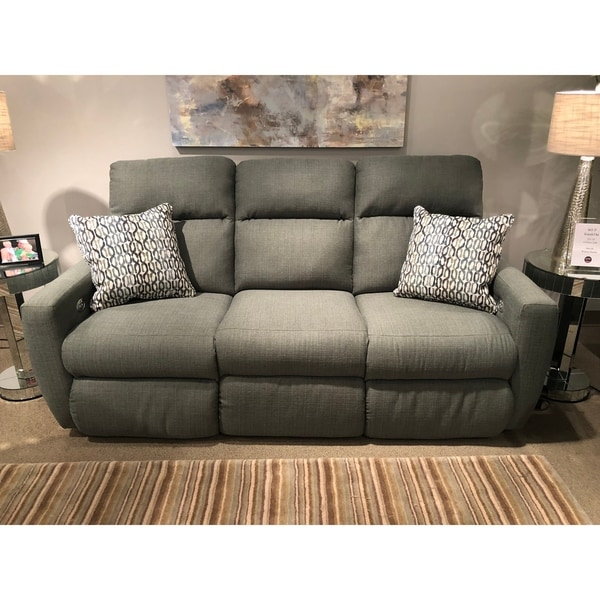 Shop Southern Motion Knockout Green Fabric Upholstered Double