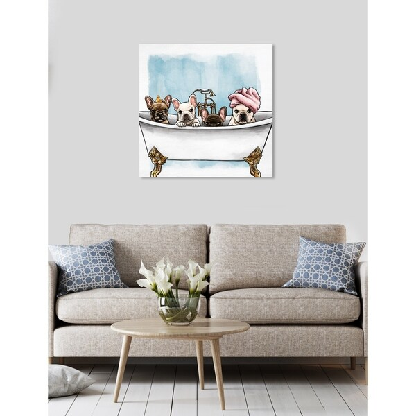Off-White Brand Gallery Wrapped Custom Canvas Art Print 18x24