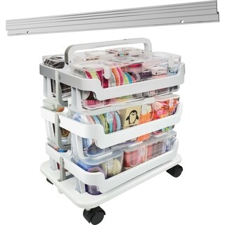 "deflecto Storage Caddy Kit - 22.3"" H x 16"" W x 11"" D"