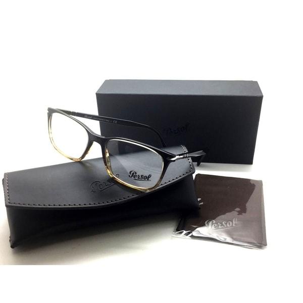616fb7ce6f Shop Persol Men Brown Square Eyeglasses PO 3189 V 1026 55 Plastic ...