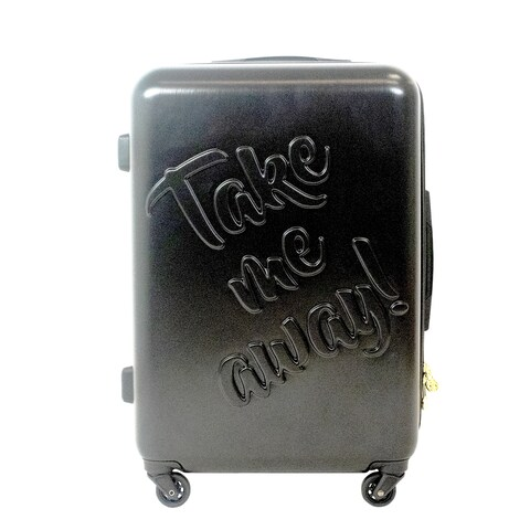 Macbeth Collection Take me Away 25in Rolling Luggage Suitcase - 25