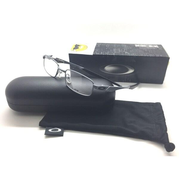8c67439fd9cde Shop Oakley Rudder Satin Gray Rubber Metal Eyeglasses OX 3171 0148 ...