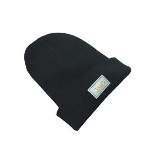 F.S.D LED Light Up Beanie Hat - Black
