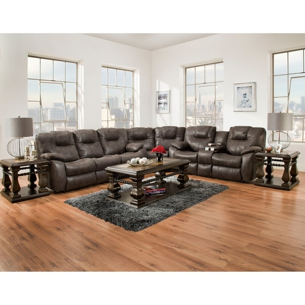 Southern Motion's Avalon Reclining Sectional