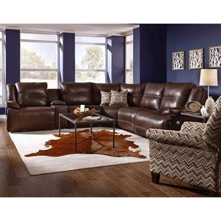 Southern Motion's Major League Power Headrests Reclining Sectional