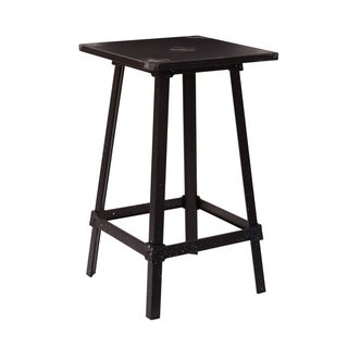 Link to Olympia Metal Bar Table in Antique Black Similar Items in Dining Room & Bar Furniture