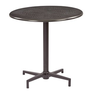 "OSP Designs Oxton 30"" Round Folding Table"