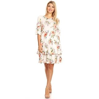5cd97fd39d9 Buy White Casual Dresses Online at Overstock