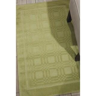 Nourison Hand-tufted Westport Contemporary Wool Rug (2'6 x 4')