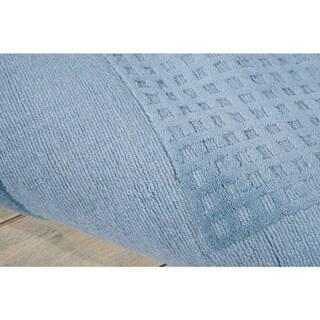 Nourison Hand-tufted Westport Contemporary Wool Rug (3'6 x 5'6)