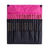 DeNoa Knitting Crochet Needle Storage Case Folding Travel Organizer