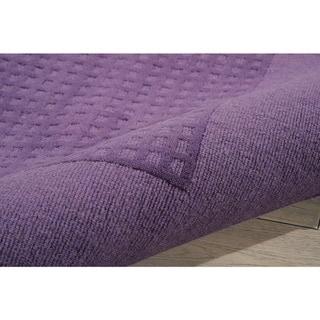 Nourison Hand-tufted Westport Contemporary Wool Rug (8' x 10'6)