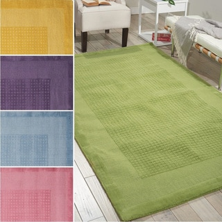 Nourison Hand-tufted Westport Contemporary Wool Rug (8' x 10'6)