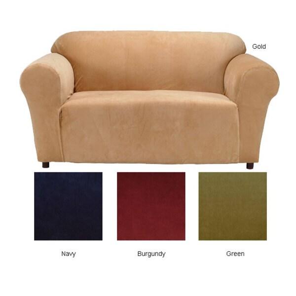 Stretch Velvet Sofa Slipcover Free Shipping Today