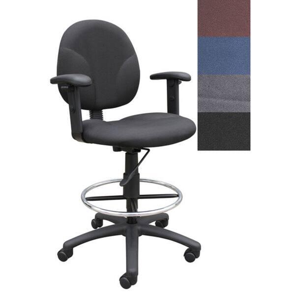 Enjoyable Shop Boss Drafting Stool With Adjustable Arms Free Creativecarmelina Interior Chair Design Creativecarmelinacom