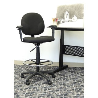 Boss Drafting Stool with Adjustable Arms