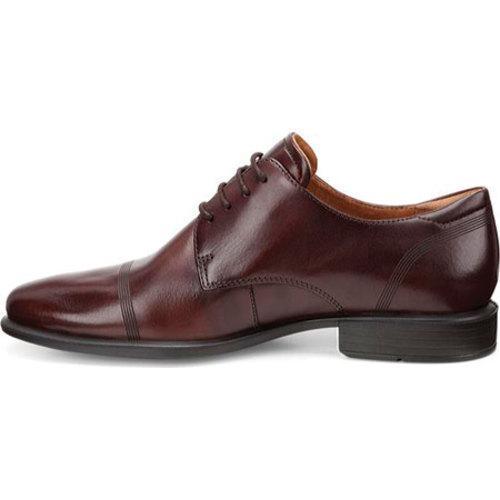 Shop Men s ECCO Cairo Cap Toe Tie Mink Calf Leather - Free Shipping ... 4f404be00bc