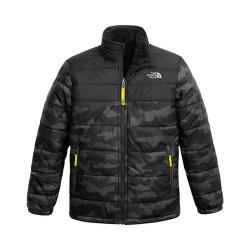 Boys' The North Face Reversible Mount Chimborazo Jacket Graphite Grey Camo Heather Print