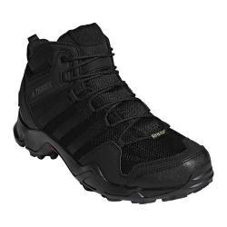 Men's adidas Terrex AX 2.0 R Mid GORE-TEX Hiking Shoe Black/Black/Black