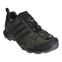 Men's adidas Terrex Swift R2 GORE-TEX Hiking Shoe Night Cargo/Black/Base Green