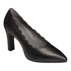 Women's Aerosoles Taxi Ride Pump Black Leather (More options available)