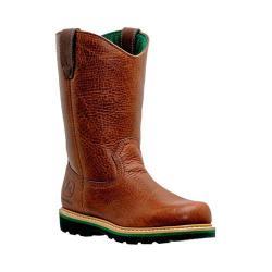 Men's John Deere Boots 11in Work Wellington 4193in Brown Walnut