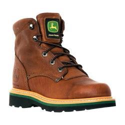 Men's John Deere Boots 6in Lace-Ups 6193in Boot Brown Walnut
