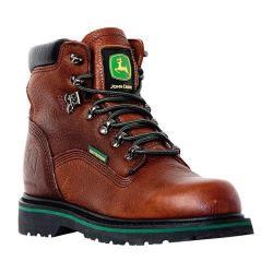 Men's John Deere Boots 6in Waterproof Lace-Ups 6283in Dark Brown