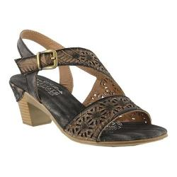 Women's L'Artiste by Spring Step Noreen Slingback Grey Leather