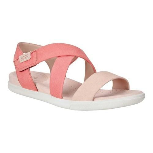 3219dd2ed42 Shop Women s ECCO Damara Strap Sandal Rose Dust Coral - Free Shipping Today  - Overstock - 19847749