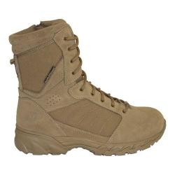 Men's Smith & Wesson Breach 2.0 8in Side Zip Boot Coyote Suede/Nylon