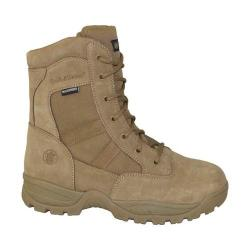 Men's Smith & Wesson Breach 2.0 Waterproof 8in Side Zip Boot Coyote Suede/Nylon