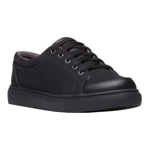 Men's Propet Ollie Sneaker Black Canvas