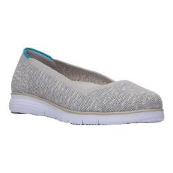 Women's Propet TravelFit Flex Flat Taupe/Grey Textile (More options available)