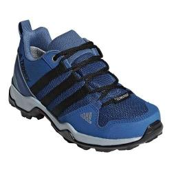 Children's adidas Terrex AX 2.0 R Climaproof Hiking Shoe Blue Beauty/Black/Ash Grey