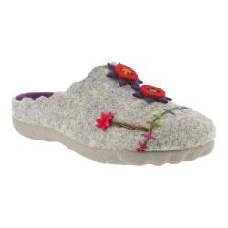 Women's Flexus by Spring Step Piketfens Slipper Gray Wool