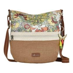 Women's Sakroots Artist Circle Soft Bucket Sunlight Flower Power