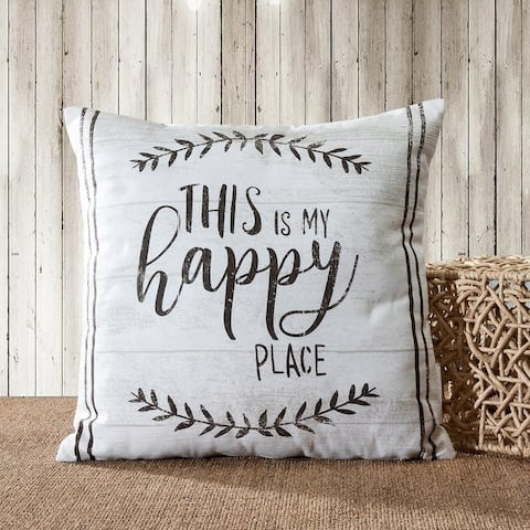 Farmhouse Vintage Quotes / Animal Decorative Pillow Cover