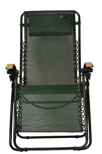 TravelChair Lounge Lizard Green Folding Recliner Chair