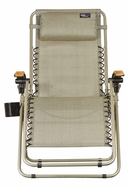 TravelChair Lounge Lizard Salt & Pepper Folding Recliner Chair