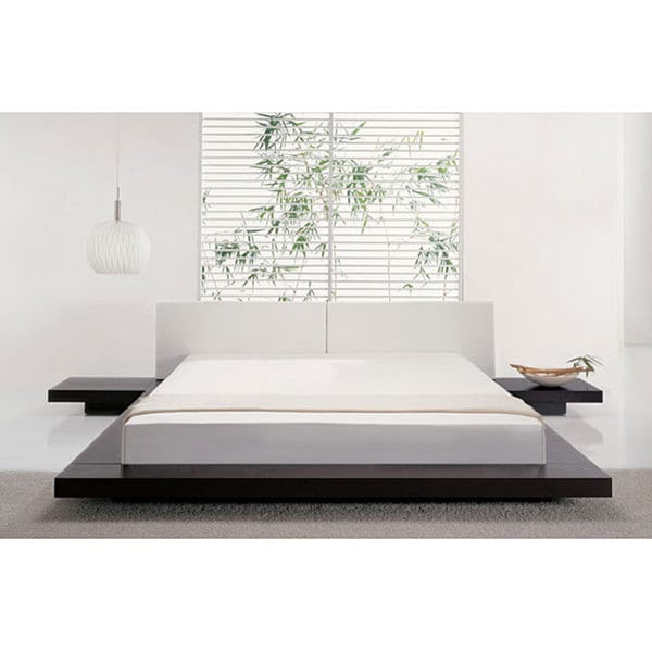 Worth Queen Size Platform Bed And 2 Nightstands